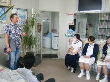 戸澤良親の医療コンサル珍道中日記-香取さん講演風景